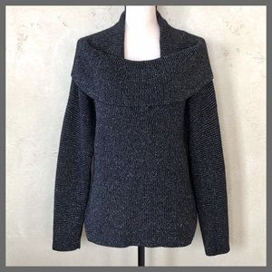 LAFAYETTE 148 New York Wool Knit Cowl Neck Sweater